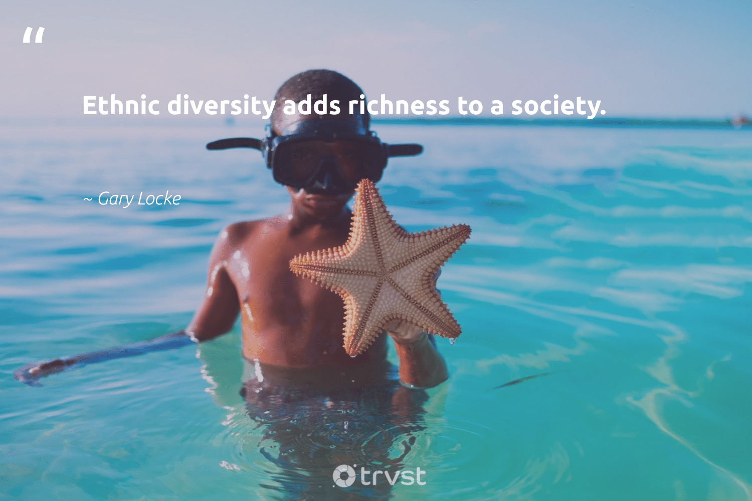 """Ethnic diversity adds richness to a society.""  - Gary Locke #trvst #quotes #diversity #society #discrimination #representationmatters #bethechange #socialgood #thinkgreen #inclusion #makeadifference #weareallone"