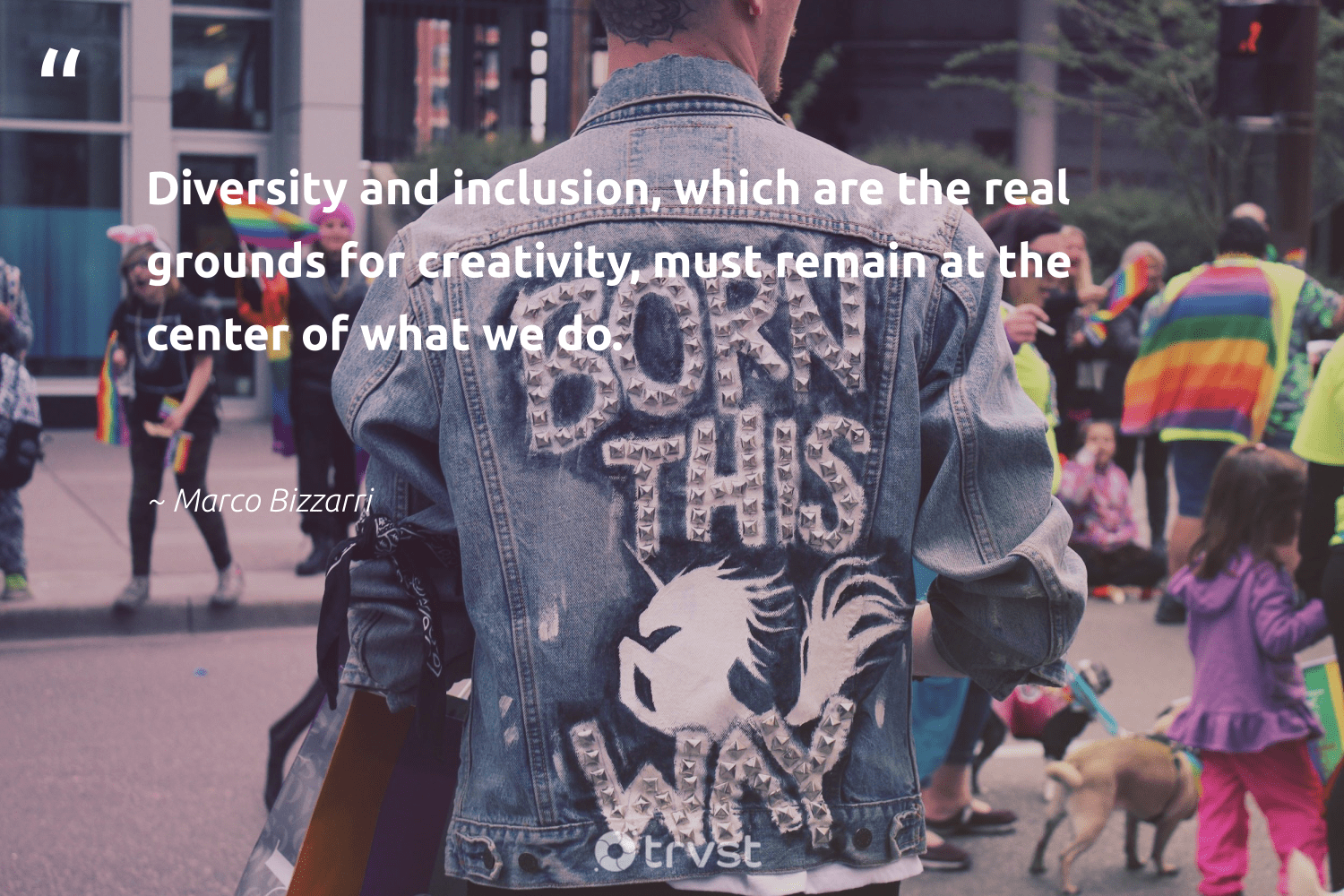 """Diversity and inclusion, which are the real grounds for creativity, must remain at the center of what we do.""  - Marco Bizzarri #trvst #quotes #diversity #inclusion #creativity #representationmatters #discrimination #makeadifference #socialchange #takeaction #giveback #bethechange"