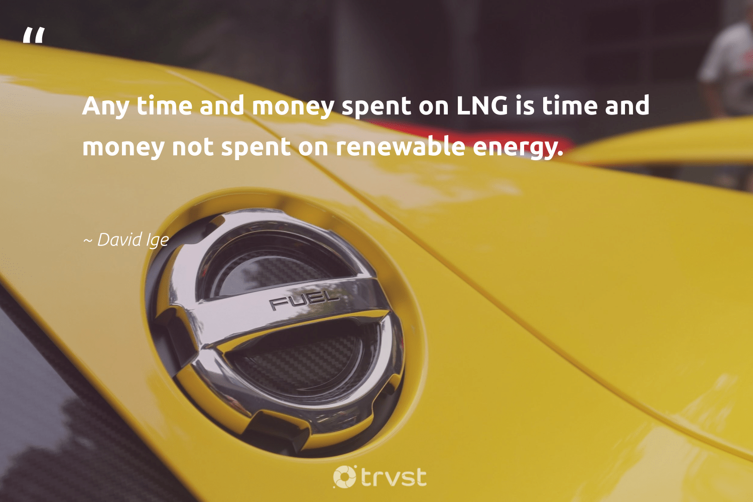 """""""Any time and money spent on LNG is time and money not spent on renewable energy.""""  - David Ige #trvst #quotes #renewableenergy #energy #renewable #renewables #cleanenergy #environment #globalwarming #socialchange #100percentrenewable #switchfuelenergy"""
