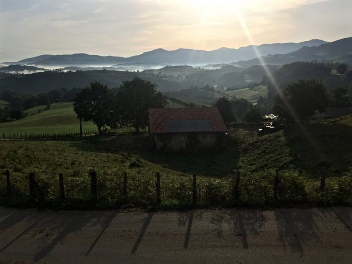 View of the camino