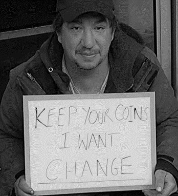 greater change helping the homeless