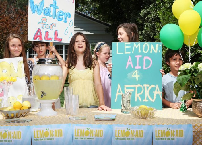 Gen Z's Changing The World Lemon aid for Africa