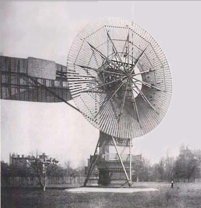 Charles Brush's 1888 Windmill