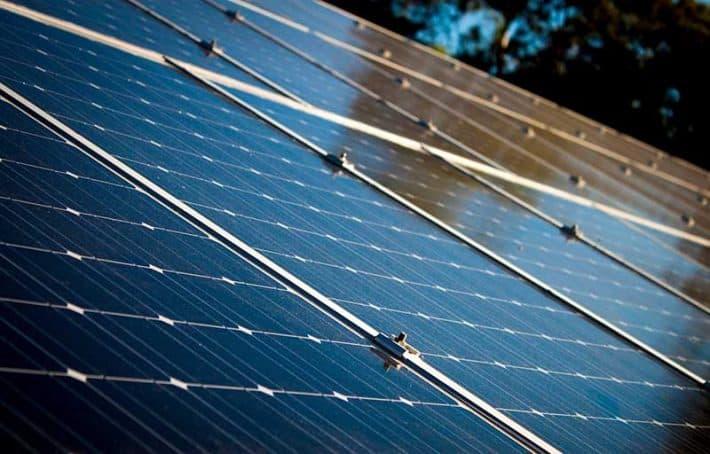 Solar power green energy
