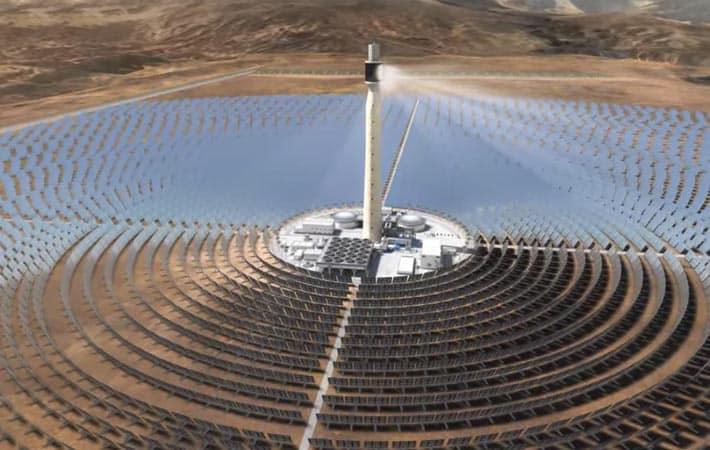 Noor Complex Solar Power Plant
