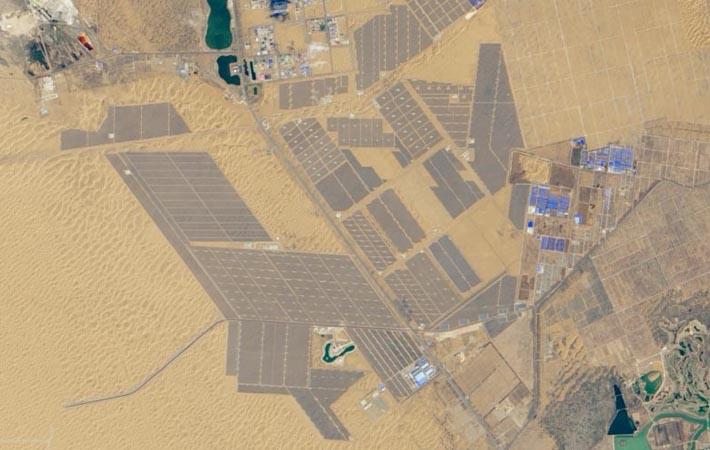 Biggest Solar Farm in the World: Tengger Desert Solar Park
