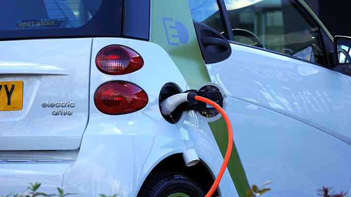 Electric Car Renewable Energy Reducing Climate Change