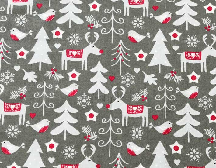 Christmas print material to wrap gifts plastic free