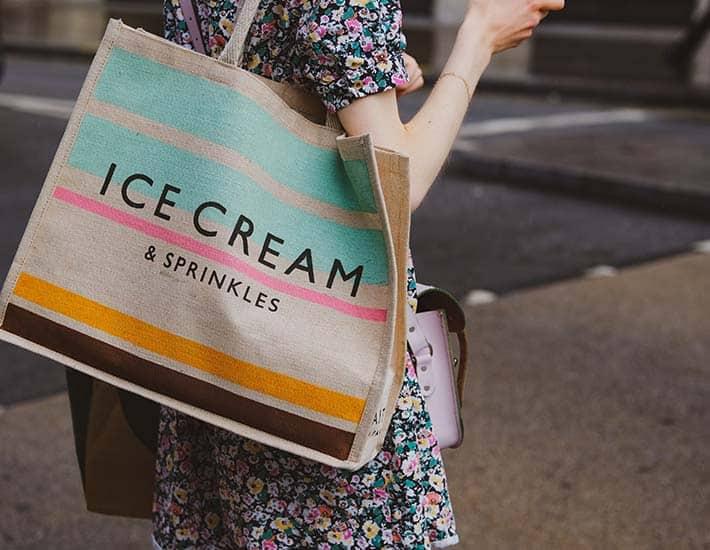 Gift ideas reusable bags
