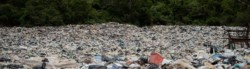 Different types of plastic waste