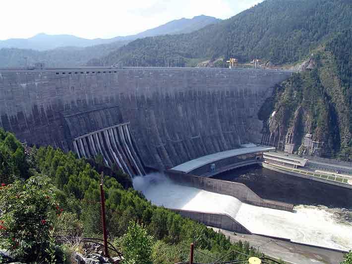 Sayano Shushnekaya Hydropower Dam