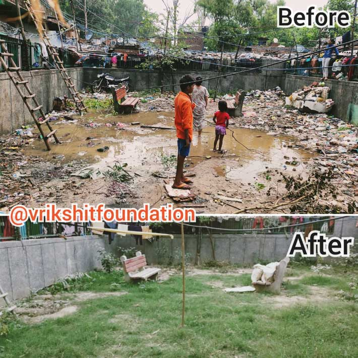 Vrikshit Foundation Clean Up