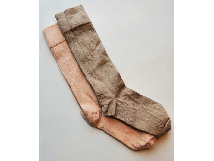 Maries Movment Pink Ankle Length Socks