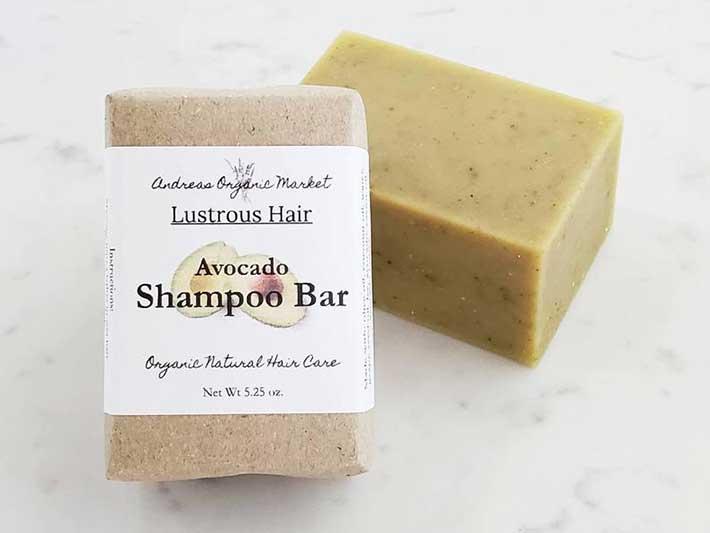 Andreas Market Zero Waste Shampoo Bars