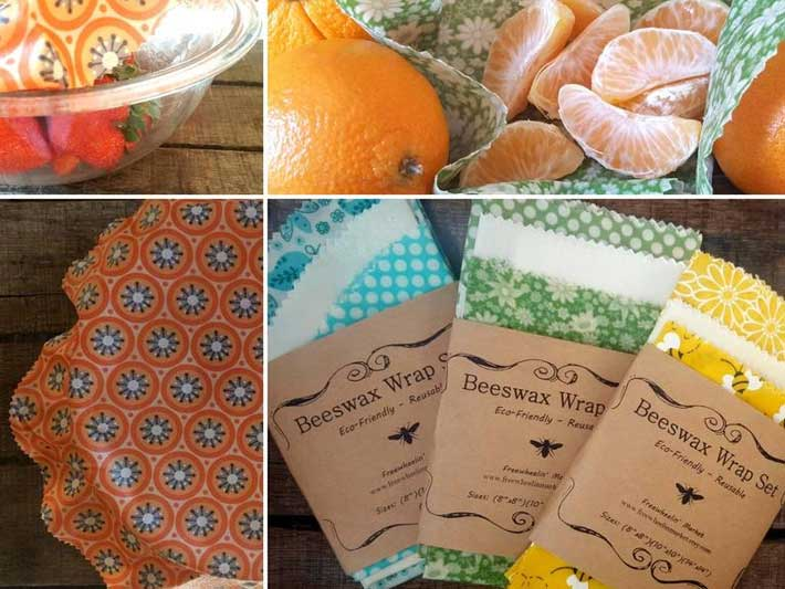 Freewheelin Market Beeswax Wraps