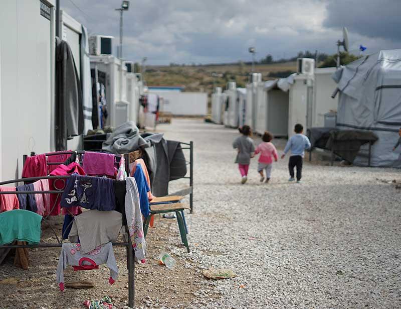 Refugee Camp Athens