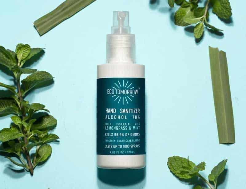 Eco Tomorrow Hand Sanitizer Spray