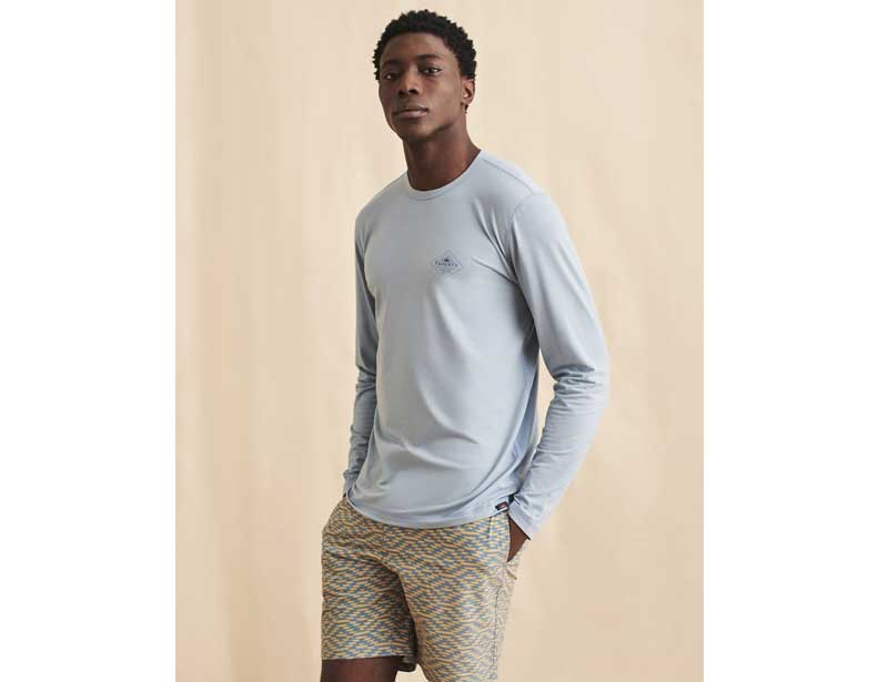 Faherty sustainable mens clothing